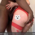 VIDEO :  A message for White bois from a Bimbo blonde BBC Slut!
