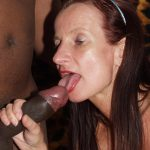 "Gang bang amateur star Sperme Annekke : ""black guys have the most biggest cocks of all"""