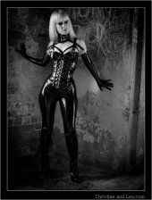 Mistress Serena black latex