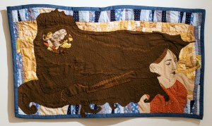 Poet's Voice. Birds Song; Hand pieced and Quilted by Amanda K Gross