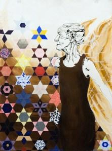 Grandmother's Dream; Acrylic on Paper by Amanda K Gross