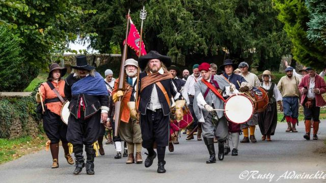 Villagers Marching