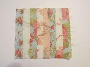 Colchas de patchwork para casas de muñecas coser