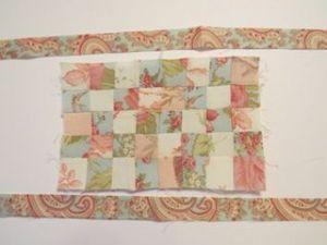 Colchas de patchwork para casas de muñecas cortar borde