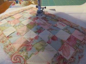 Colchas de patchwork para casas de muñecas acolchar