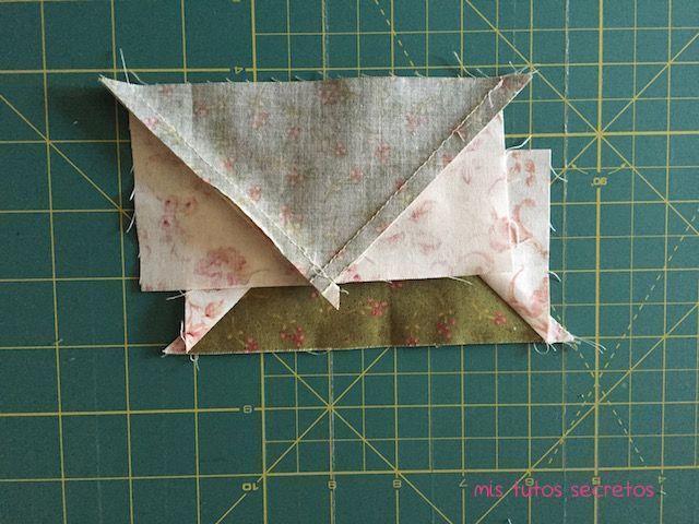 Vuelo de la oca patchwork 9