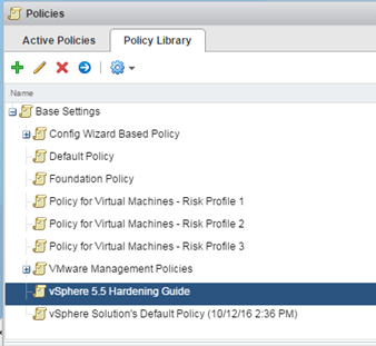 meet 6d22a 53da9 In the vROps policy section, you ll see that there is a default policy in  the Policy Library called the vSphere 5.5 Hardening Guide