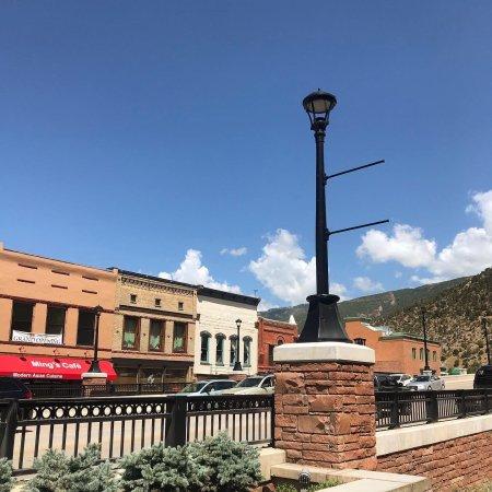 Glenwood Springs downtown Colorado
