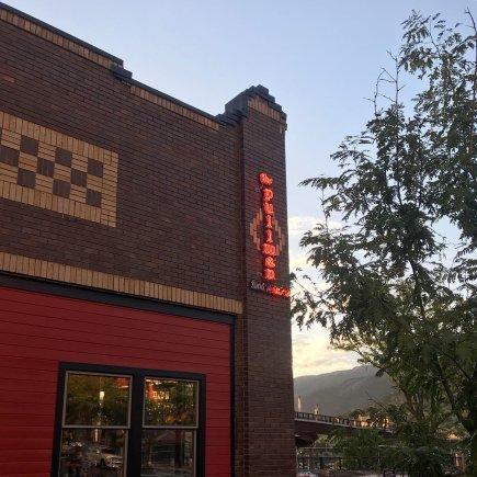 Outside The Pullman Restaurant Glenwood Springs Colorado