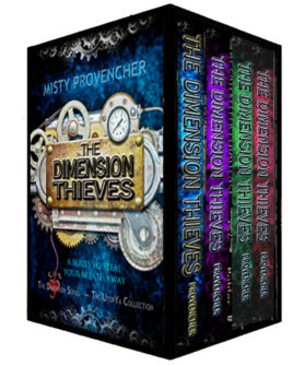 The Dimension Thieves Series Box Set