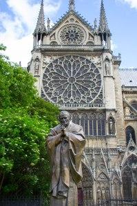 St John Paul II at Notre Dame