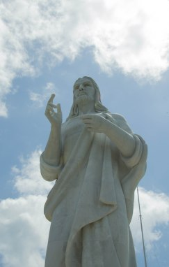 Statue of Welcoming Christ