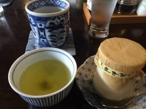 6町屋豆腐デザート