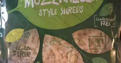 Aldi Earth Grown Vegan Mozzarella cheese shreds