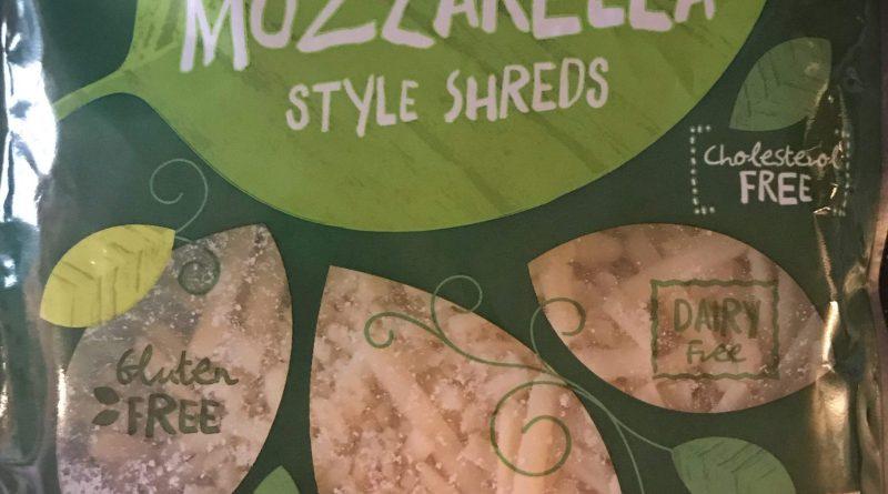 Aldi Earth Grown Vegan Mozzarella cheese shreds