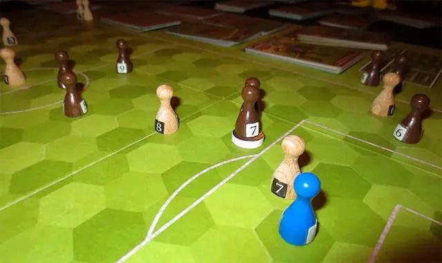 Detalle de partido en juego