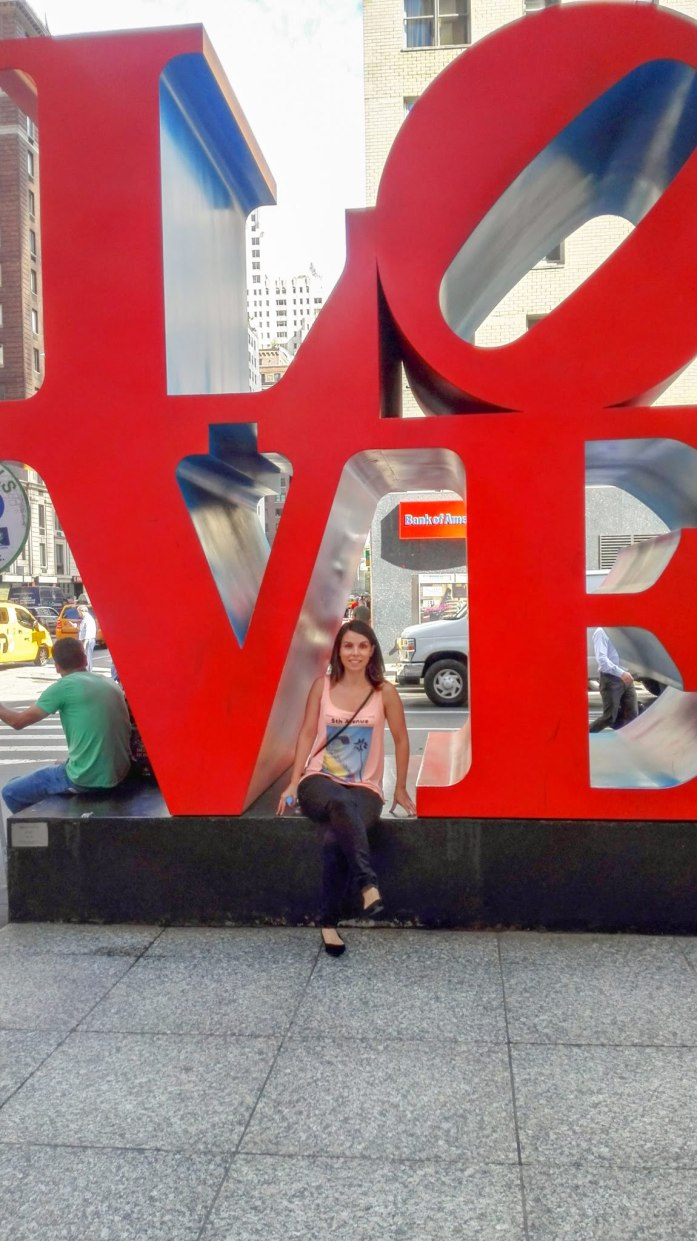 que ver en nueva york en cuatro días escultura love