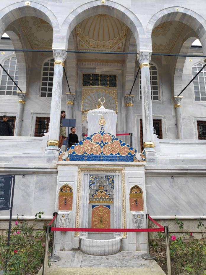 tercer patio palacio topkapi estambul