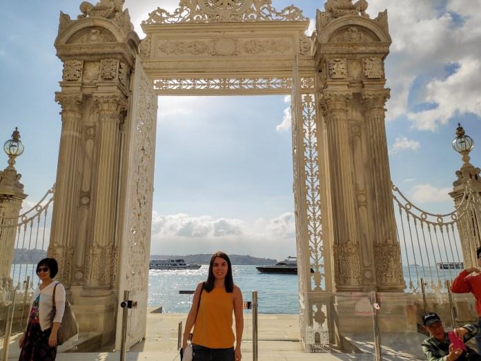 Terrazas Palacio Dolmabahçe Estambul