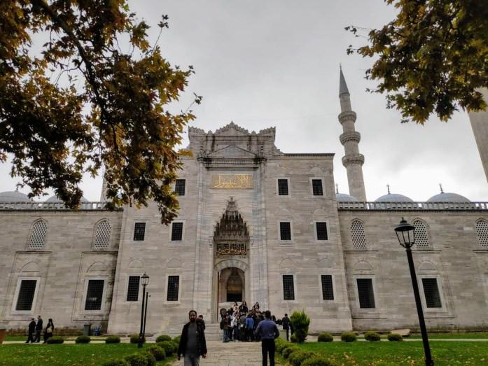 Entrada Mezquita Suleymaniye