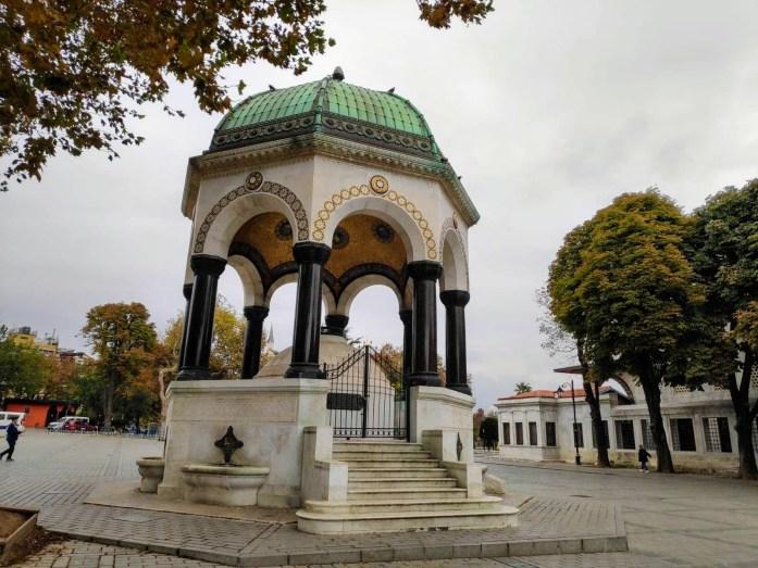 Fuente Alemana Plaza Hipódromo Estambul