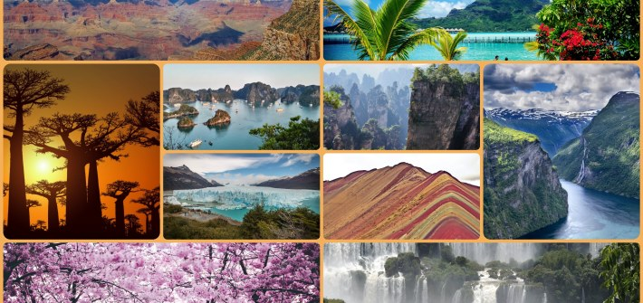 10 paisajes naturales mundo