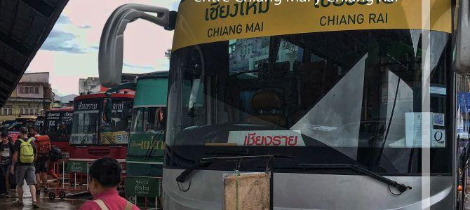 Cómo llegar de Chiang Mai a Chiang Rai y viceversa