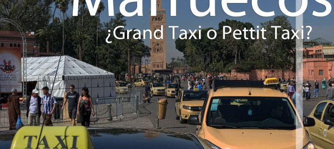 Diferencias entre Grand Taxi y Petit Taxi en Marruecos