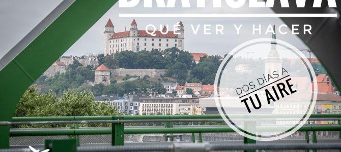 Qué ver y hacer en Bratislava en dos días