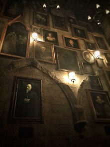 Inside Hogwarts complete with moving portraits