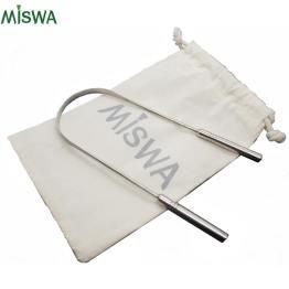 Gratte-langue en inox MISWA