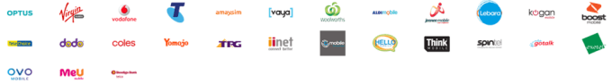 Mobile phone carriers in Australia