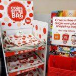 オーストラリア大手スーパーColes、Woolworthsで無料レジ袋が廃止になりました