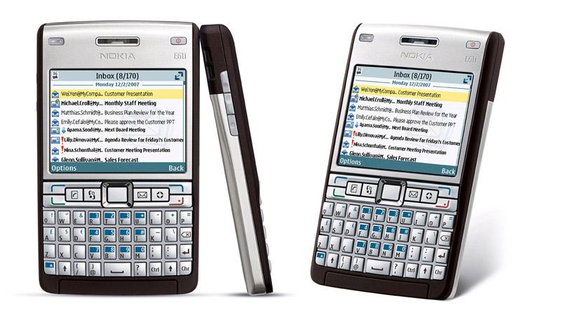 Nokia-E61i anty-kreatywne projektowanie