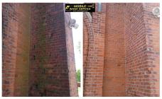 Czyszczenie fasad z cegły