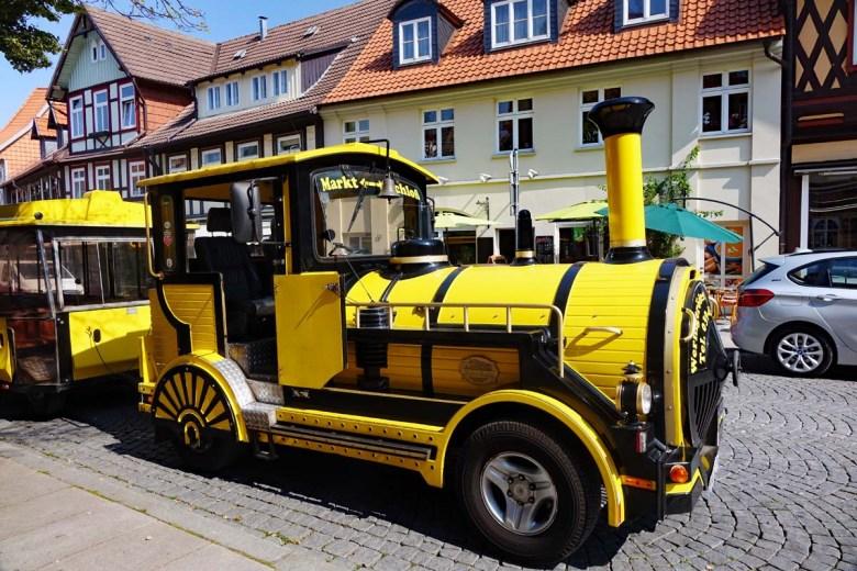 Schlossbahn in Wernigerode im Harz