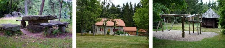 Gaststätte und Infohaus Waldhaus auf dem Waldhistorischen Lehrpfad im Naturpark Steinwald
