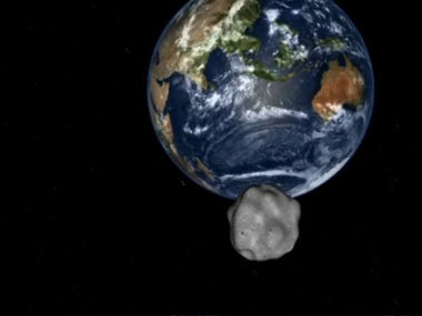 Another newly discovered asteroid whizzes by the Earth