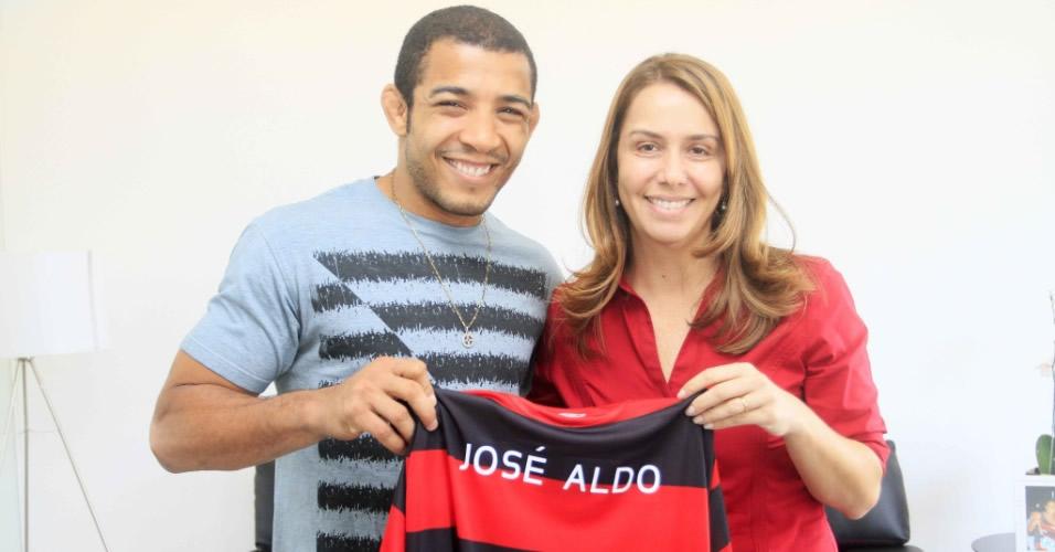 José Aldo e Patrícia Amorim. Ele, do MMA. Ela, da Natação. Mas popularizados por um clube de Futebol: o Flamengo