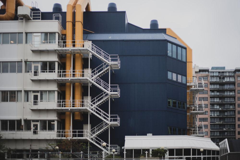 Moderne Architektur in Rotterdam