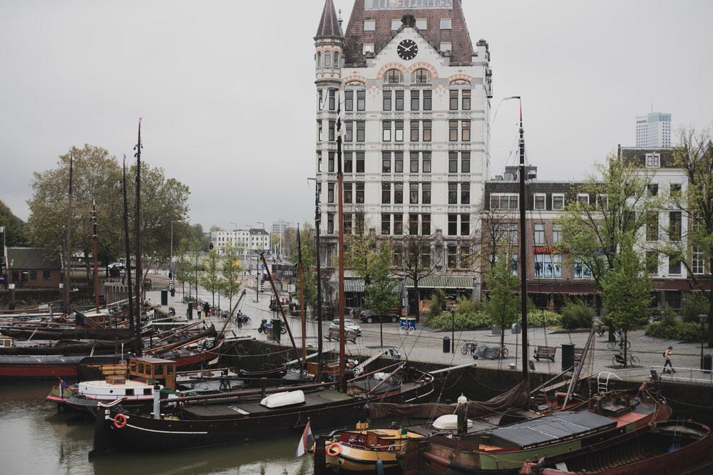 Segelschiffe in Rotterdam