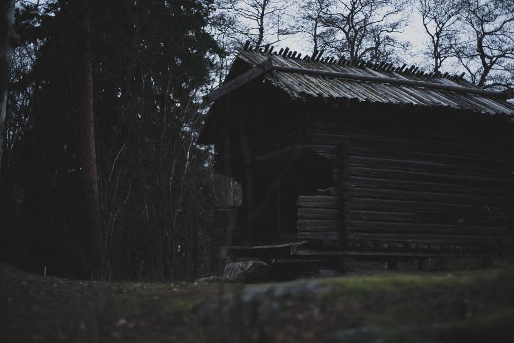 Haus im Freilichtmuseum