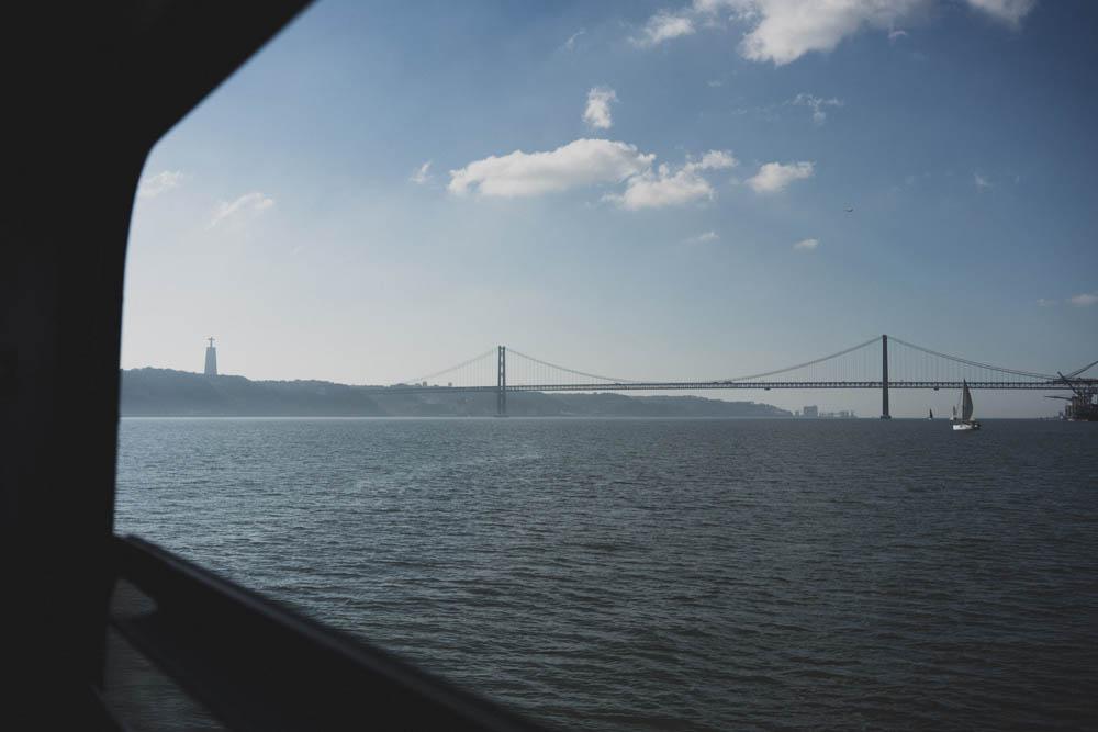 Blick auf die Ponte 25 de Abril