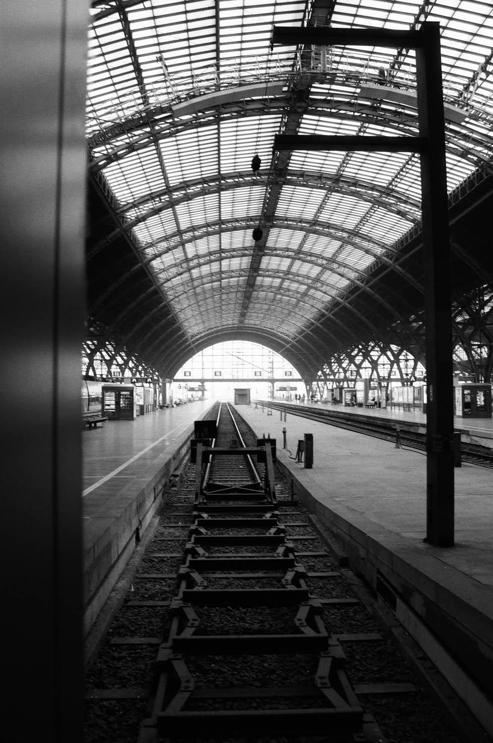 Auf dem Leipziger Bahnhof