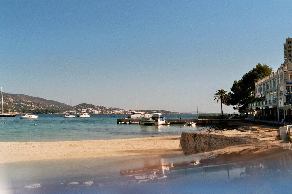 Strand in Palmanova auf Mallorca