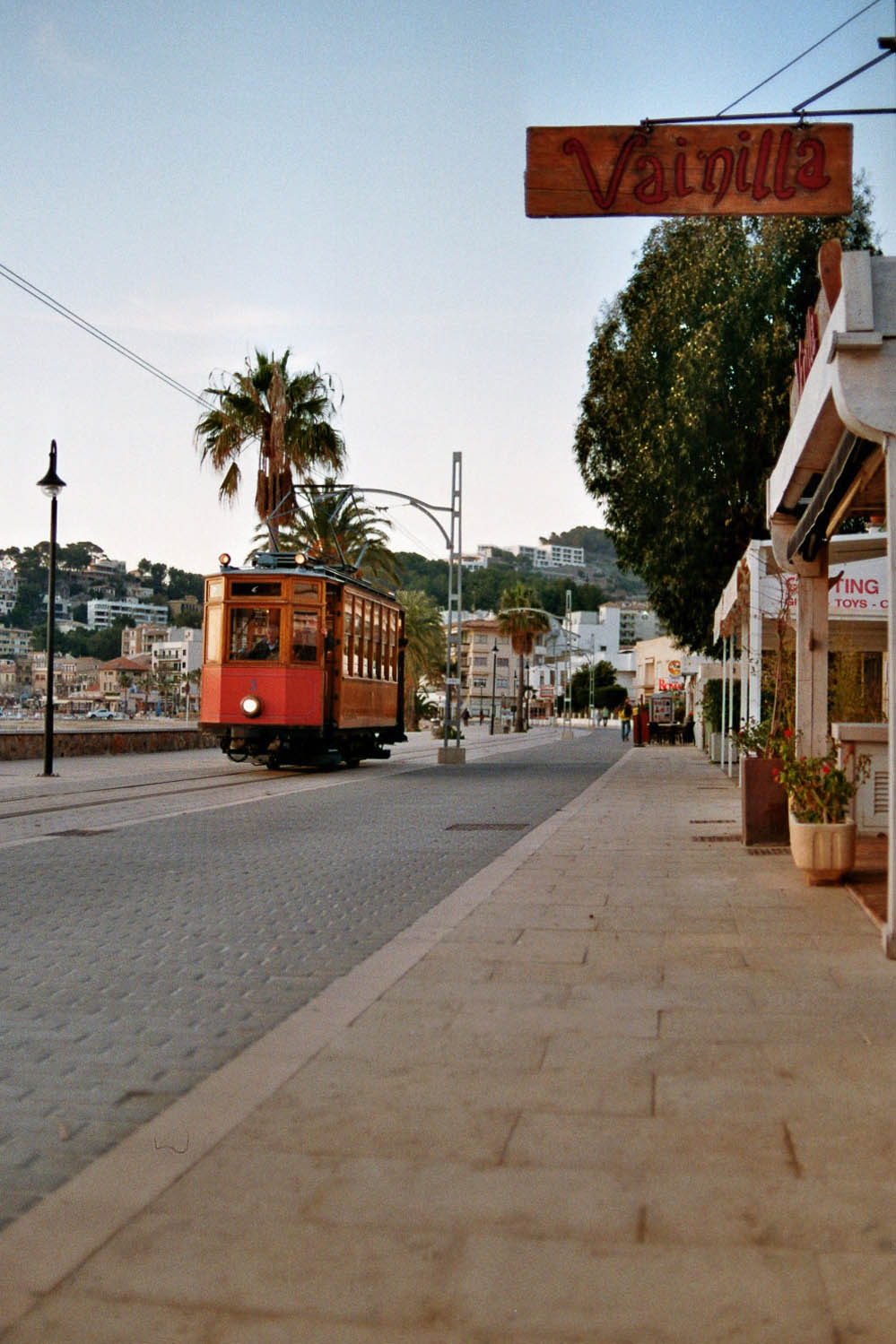 Tram in Port de Sóller