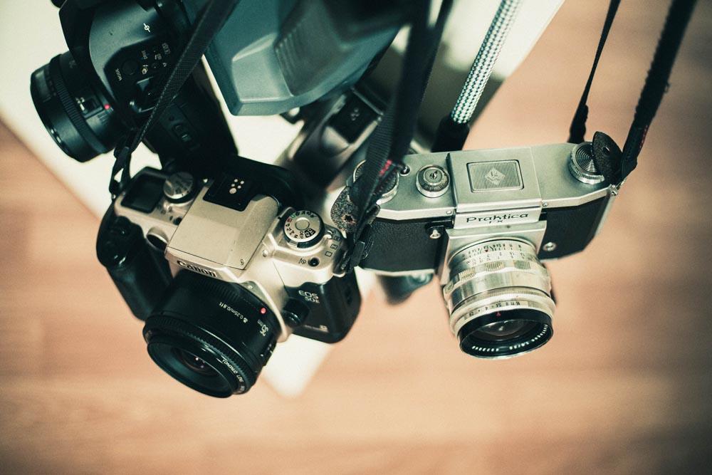Ananloge Kameras