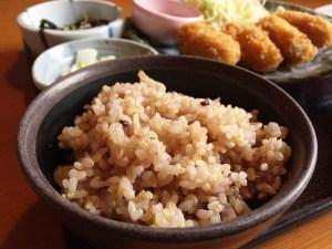 雑穀米ランチ