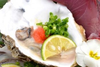 牡蠣ドアップ