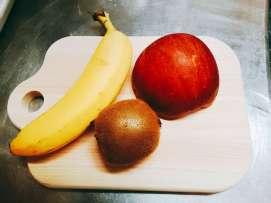 フルーツ3つ